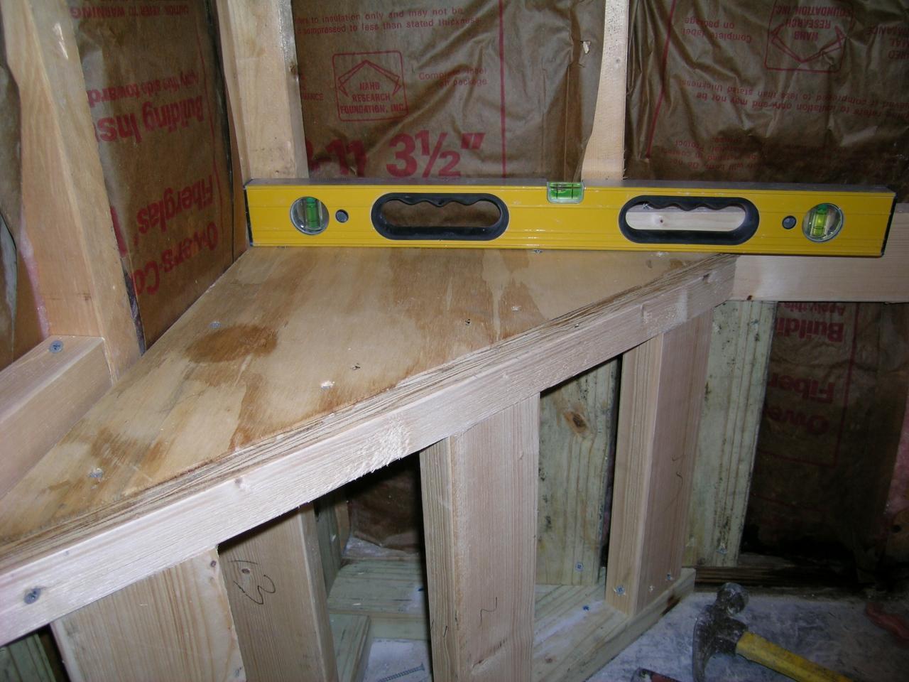 Tile Shower Seat Construction   Home design ideas