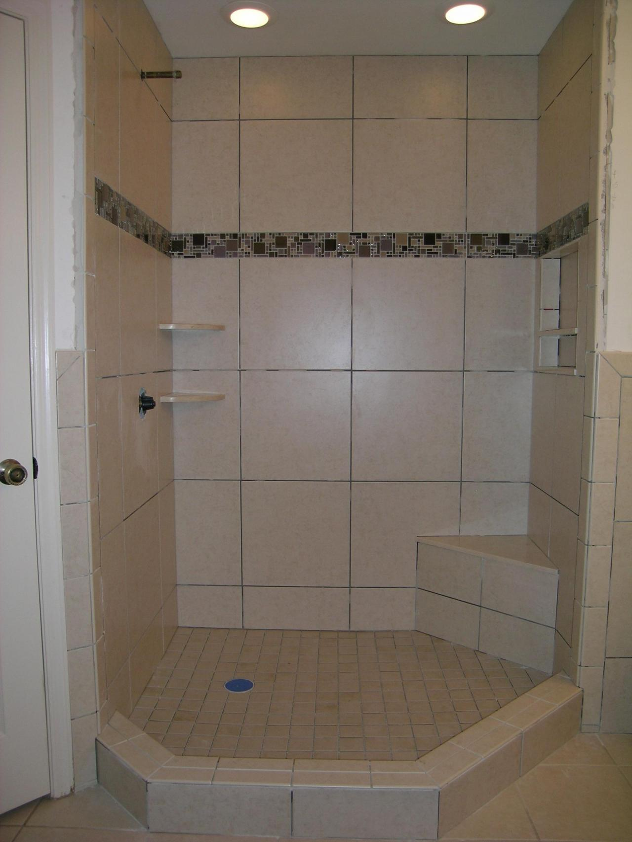 Building Shower Base For Tile Tile Shower Pan How To Build A Mortar Shower Pan 15 Tile Shower